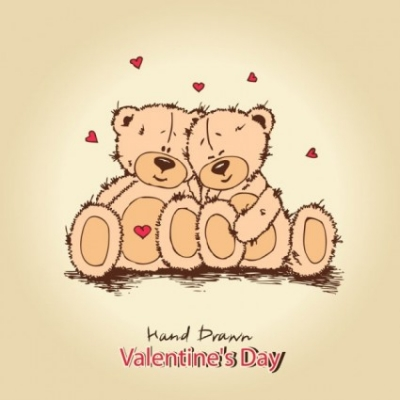 Free vector Vector background  love teddy bears background 02 vector