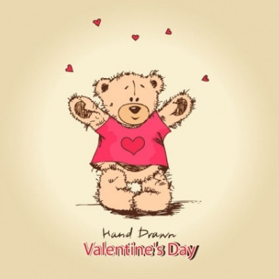 Free vector Vector background  love teddy bears background 03 vector