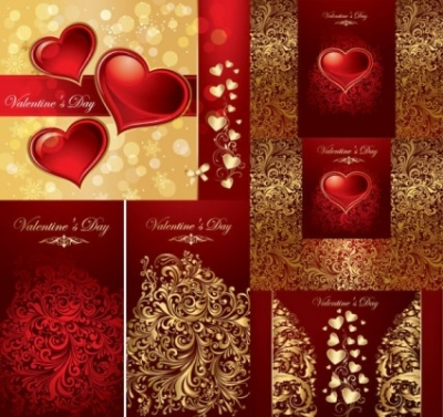 Free vector Vector background  love the background pattern vector