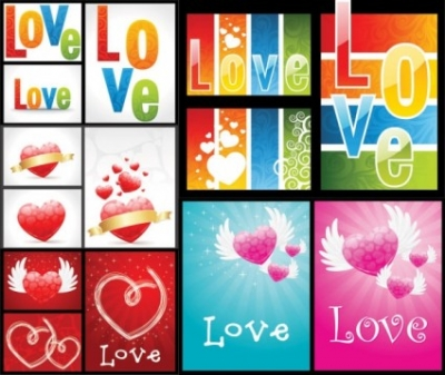 Free vector Vector pattern  love the gorgeous pattern vector