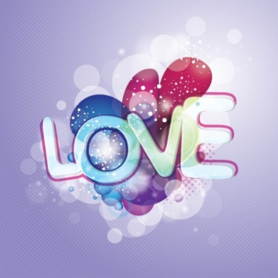 Free vector Vector background  love vector background
