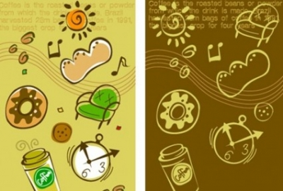 Free vector Vector background  Lovely background series vector material 4