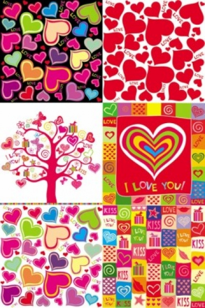 Free vector Vector Heart  lovely romantic heartshaped vector
