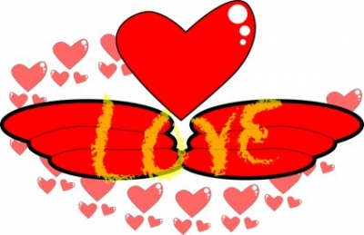 Free vector Vector clip art  Love,Wing