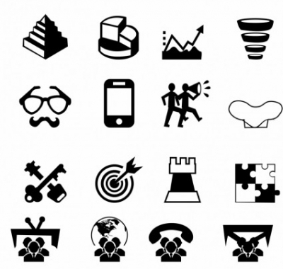 Free vector Vector icon  Marketing and Media icons