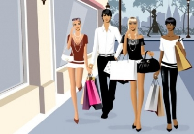 Free vector Vector people  men and women vector fashion shopping