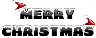 Free vector Vector clip art  MERRY CHRISTMAS 2010 (2)