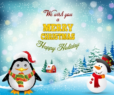 Merry christmas background Free vector 9.62MB