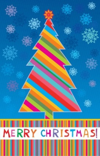 Free vector Vector Christmas  Merry Christmas Greeting Card Vector Illustration
