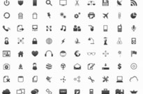 100 Small PNG Icons for Web Designer