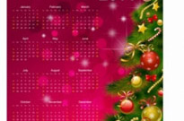 Free vector Vector misc  2014 calendar happy new year