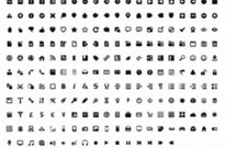 244 Toolbar Icons for GUI Designer