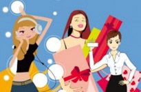 Free vector Vector people  3 women vector