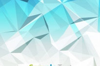 Abstract Blue Design Background Vector Illustration