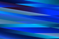 Abstract Blue Design Vector Graphic
