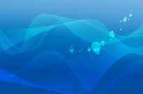 Abstract Blue Wave Background Vector Graphic