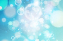 Blue Bokeh Abstract light Background Vector Graphic