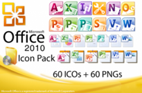Microsoft Office 2010 Icon Pack