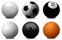 Sports Balls PNG Icon