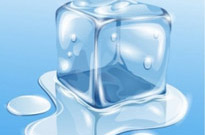 Transparent Ice Vector