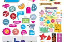 Free vector Vector misc  a variety of shopping sites decorative graphics vector