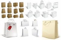 Free vector Vector misc  bag a variety of blank vector