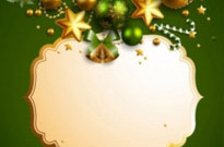 Free vector Vector background  beautiful christmas border background 05 vector