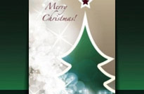 Free vector Vector Christmas  beautiful christmas leaflets 03 vector