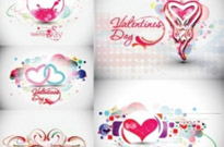 Free vector Vector pattern  beautiful heart-shaped trend pattern – vector