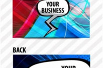 Free vector Vector misc  brilliant dynamic business card template 03 vector