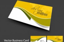 Free vector Vector misc  brilliant dynamic business card template 05 vector