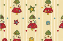 Free vector Vector background  cartoon christmas design background 04 vector