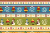 Free vector Vector background  cartoon christmas design background 05 vector