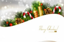 Free vector Vector background  christmas decoration background 03 vector