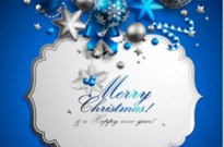 Free vector Vector background  christmas elements background 02 vector