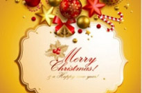 Free vector Vector background  christmas elements background 03 vector