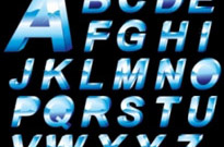 Free vector Vector Christmas  christmas english fonts 02 vector