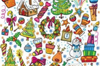 Free vector Vector Christmas  christmas illustration vector