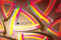 Free vector Vector background  color flow lines background 05 vector