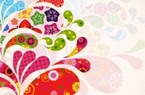 Free vector Vector background  colorful pattern background 04 vector
