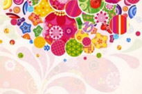 Free vector Vector background  colorful pattern background 05 vector