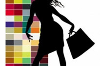 Free vector Vector Silhouettes  fashion shopping beauty silhouette 02 vector