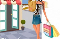 Free vector Vector people  fashion women shopping 15