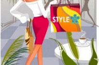 Free vector Vector people  fashion women shopping 4