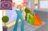 Free vector Vector people  fashion women shopping 8