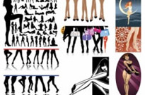 Free vector Vector misc  female legs feature vector