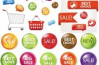 Free vector Vector misc  fine supermarket labels vector