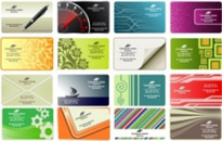 Free vector Vector misc  Free vector business card templates
