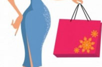 Free vector Vector people  Girl with bag