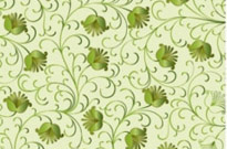 Free vector Vector floral  Green Floral Background Vector